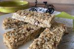 Selbstgemachte Müsliriegel nach Grundrezept für Radtouren