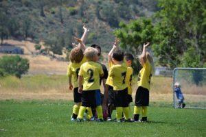 Snacks für kleine Fußballhelden